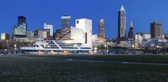 Cleveland panorama Royalty Free Stock Image