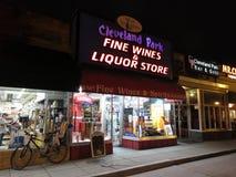 Cleveland Park Liquor Store photo stock