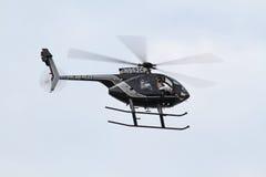 Cleveland Police Helicoptor Fotografia de Stock