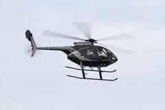 Cleveland Police Helicoptor Stock Photography