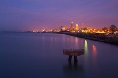 Cleveland que eu amo Imagens de Stock Royalty Free