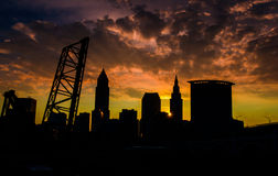 Cleveland Is The Reason Royalty Free Stock Photography