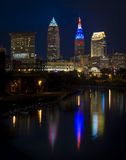 Cleveland during the RNC. Cleveland, Ohio during the RNC Royalty Free Stock Images