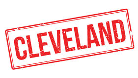 Cleveland rubber stamp Royalty Free Stock Photo