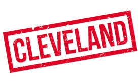 Cleveland rubber stamp Stock Image