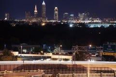 Cleveland skyline Royalty Free Stock Image