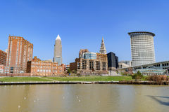Cleveland Skyline Royalty Free Stock Photos