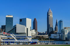 Cleveland Skyline Royalty Free Stock Images