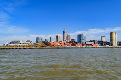 Cleveland Skyline Royalty Free Stock Photography