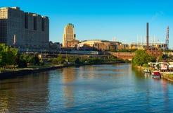 Cleveland sports scene Stock Photo
