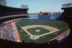 Cleveland Stadium anziano Immagini Stock