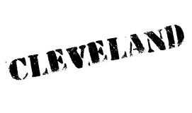 Cleveland stamp rubber grunge Stock Image