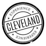 Cleveland stamp rubber grunge Stock Photo