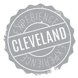 Cleveland stamp rubber grunge Royalty Free Stock Photo
