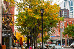Cleveland street scene Stock Photography