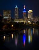 Cleveland under RNCEN Royaltyfria Bilder