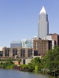 Cleveland van de binnenstad Royalty-vrije Stock Afbeeldingen