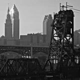 Cleveland van de binnenstad Stock Fotografie
