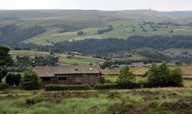 Cleveland Way towards Studley Pike Royalty Free Stock Images