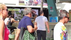 Clevelander Miami Beach bar stock video