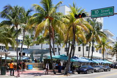 The Clevelander at Ocean Drive Stock Images