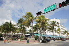 The Clevelander South Beach Stock Images