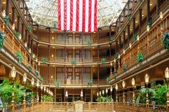 Clevelands alter Säulengang lizenzfreie stockfotografie