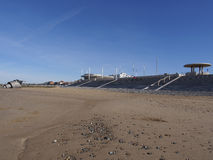 Cleveleys beach stock photography