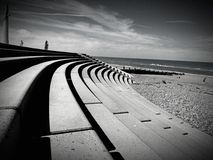 Cleveleys-Promenade Stockfotos