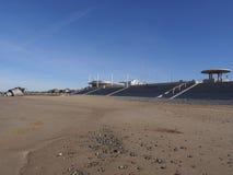 Cleveleys strand Arkivbild