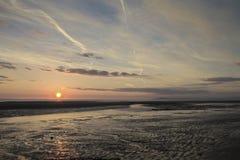 Cleveleys Sunset Stock Photo