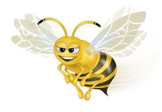 Clever Bee Royalty Free Stock Photography