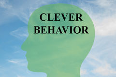 Clever Behavior concept Stock Photography