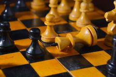 Clever board games - chess Royalty Free Stock Images