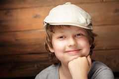 Clever boy Stock Images