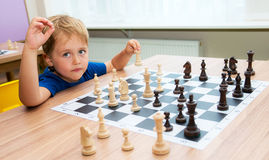 Clever chess player Stock Photography
