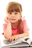 Clever child Royalty Free Stock Photos