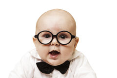 Clever child Stock Images