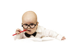 Clever kid Royalty Free Stock Photos