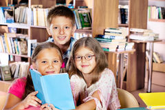 Clever kids Royalty Free Stock Image