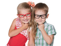 Clever kids Royalty Free Stock Photography