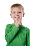 Clever little boy Stock Images