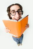 Clever student Stock Image