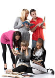 Clever students. Stock Photography
