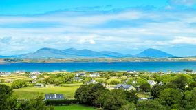 Clew Baai, Provincie Mayo, Ierland royalty-vrije stock afbeelding