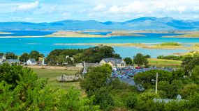 Clew Bay, County Mayo, Ireland stock photography
