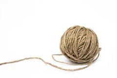 Clew della corda Immagine Stock