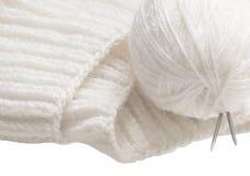 Clew e fazer crochê Imagens de Stock Royalty Free