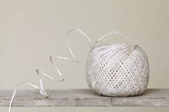 Clew of linen twine Stock Image