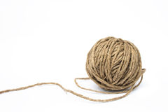 Clew of rope Stock Image